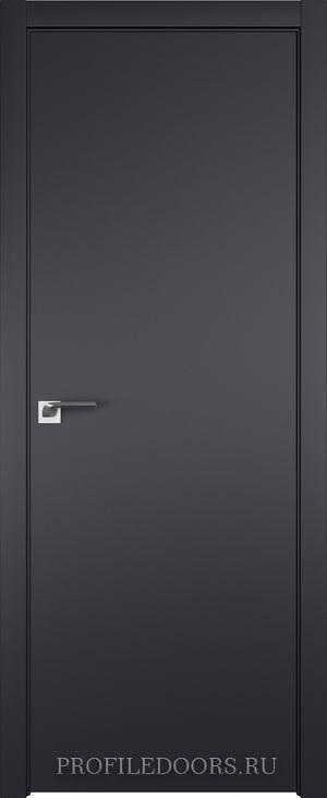 1E Черный матовый ABS в цвет с 4-х сторон