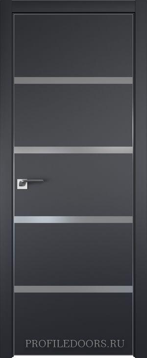 20E Черный матовый Lacobel Серебряный лак Black Edition с 4-х сторон