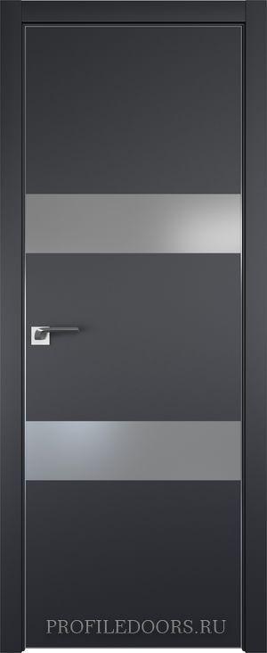 34E Черный матовый Lacobel Серебряный лак Матовая с 4-х сторон