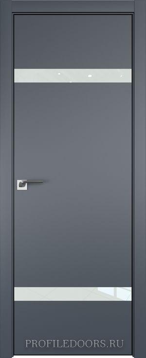 3E Антрацит Lacobel Белый лак Black Edition с 4-х сторон