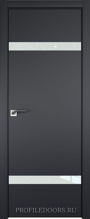 3E Черный матовый Lacobel Белый лак Black Edition с 4-х сторон