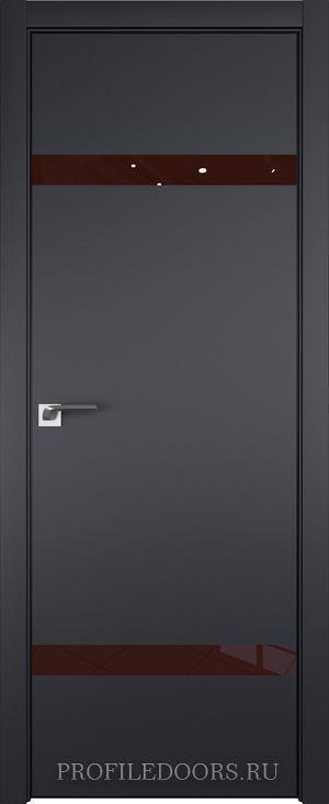 3E Черный матовый Lacobel Коричневый лак Black Edition с 4-х сторон