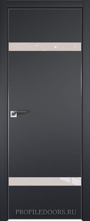 3E Черный матовый Lacobel Перламутровый лак Матовая с 4-х сторон