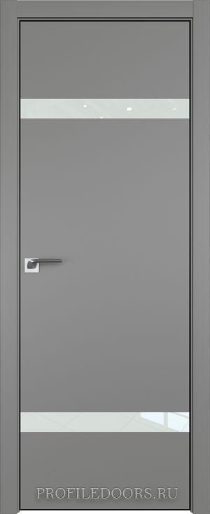 3E Грей Lacobel Белый лак Black Edition с 4-х сторон