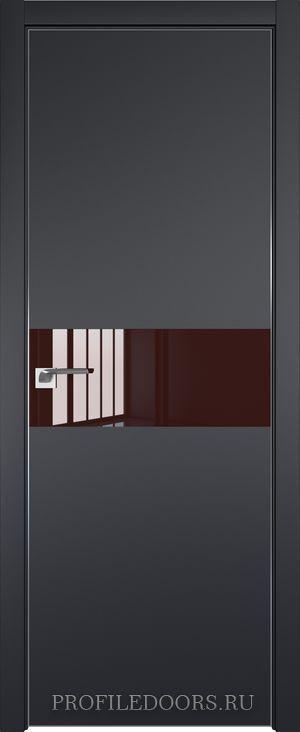 4E Черный матовый Lacobel Коричневый лак Матовая с 4-х сторон
