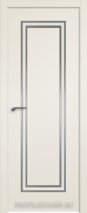 50E Магнолия Сатинат Серебро ABS в цвет с 4-х сторон