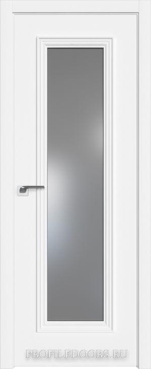 51E Аляска Lacobel Серебряный лак в цвет двери ABS в цвет с 4-х сторон