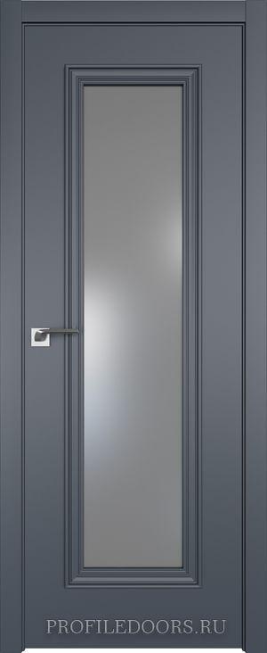 51E Антрацит Lacobel Серебряный лак в цвет двери ABS в цвет с 4-х сторон