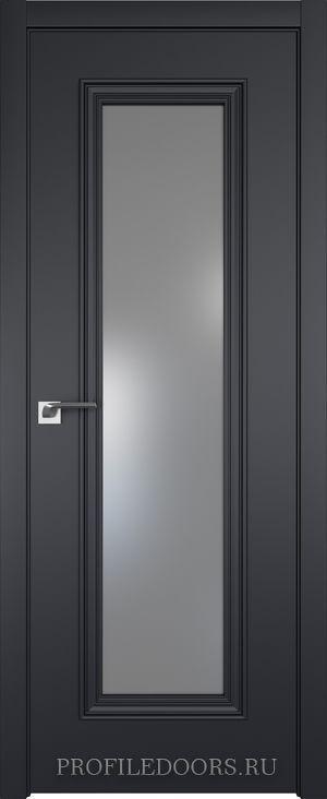 51E Черный матовый Lacobel Серебряный лак в цвет двери ABS в цвет с 4-х сторон