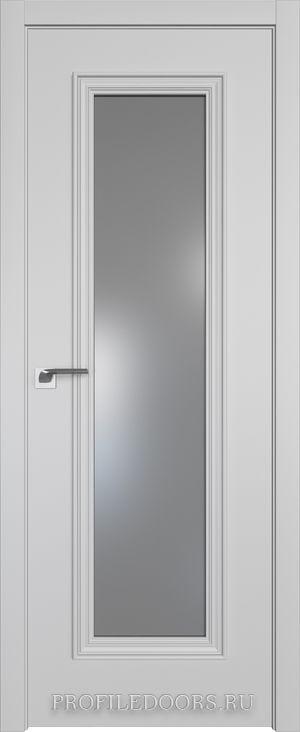 51E Манхэттен Lacobel Серебряный лак в цвет двери ABS в цвет с 4-х сторон