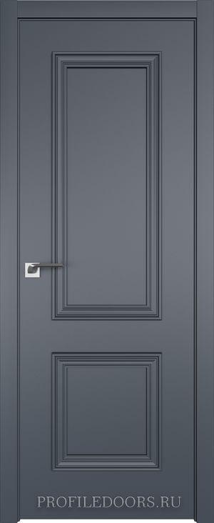 52E Антрацит в цвет двери ABS в цвет с 4-х сторон