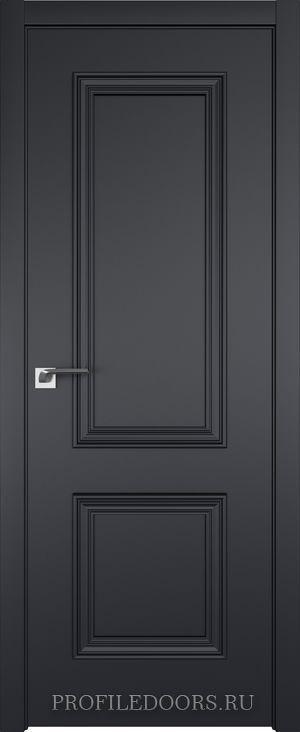 52E Черный матовый в цвет двери ABS в цвет с 4-х сторон