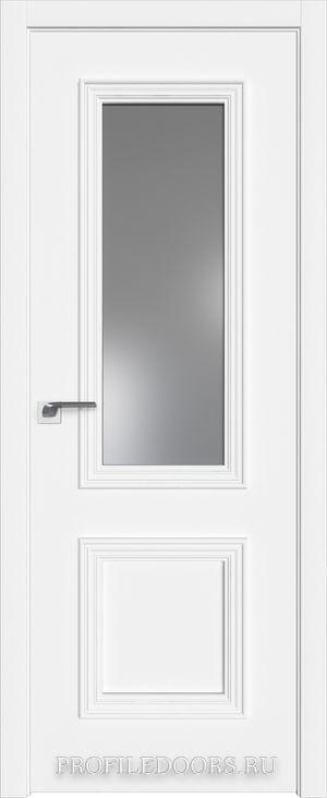 53E Аляска Lacobel Серебряный лак в цвет двери ABS в цвет с 4-х сторон