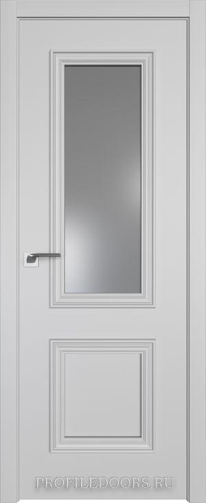 53E Манхэттен Lacobel Серебряный лак в цвет двери ABS в цвет с 4-х сторон
