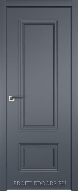 58E Антрацит в цвет двери ABS в цвет с 4-х сторон