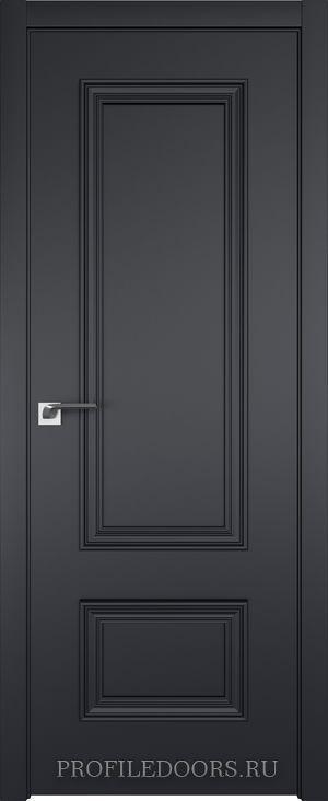 58E Черный матовый в цвет двери ABS в цвет с 4-х сторон