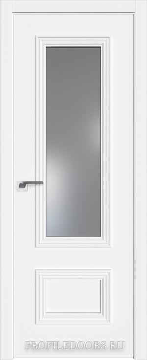 59E Аляска Lacobel Серебряный лак в цвет двери ABS черная матовая с 4-х сторон