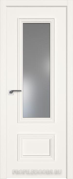 59E ДаркВайт Lacobel Серебряный лак в цвет двери ABS черная матовая с 4-х сторон