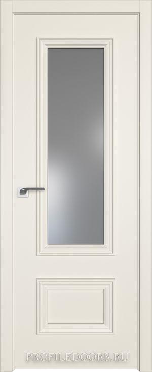 59E Магнолия Сатинат Lacobel Серебряный лак в цвет двери ABS черная матовая с 4-х сторон