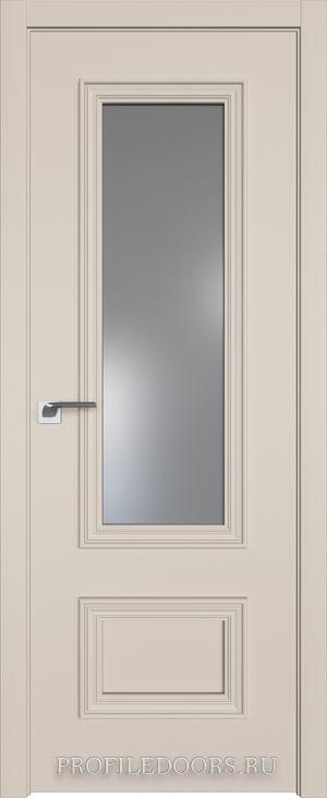 59E Санд Lacobel Серебряный лак в цвет двери ABS черная матовая с 4-х сторон