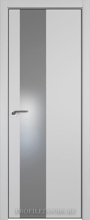5E Манхэттен Lacobel Серебряный лак ABS черная матовая с 4-х сторон