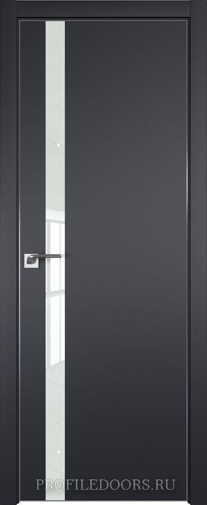 6E Черный матовый Lacobel Белый лак Black Edition с 4-х сторон
