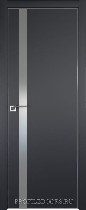 6E Черный матовый Lacobel Серебряный лак Black Edition с 4-х сторон