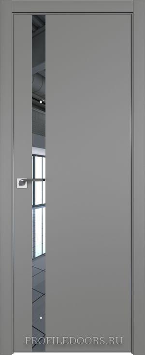 6E Грей Зеркало ABS черная матовая с 4-х сторон