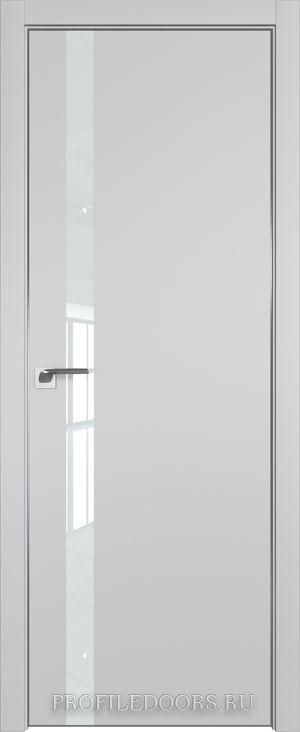 6E Манхэттен Lacobel Белый лак Black Edition с 4-х сторон