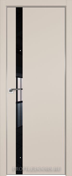 6E Санд Lacobel Черный лак ABS черная матовая с 4-х сторон