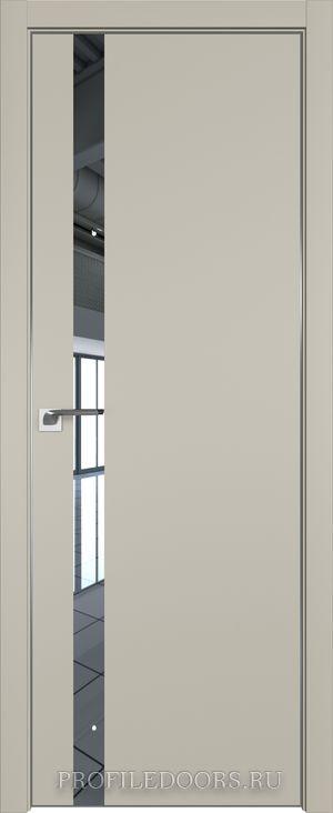 6E Шеллгрей Зеркало ABS черная матовая с 4-х сторон