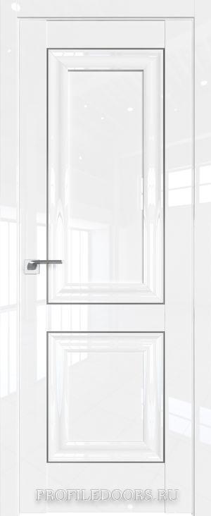 27L Белый люкс Серебро