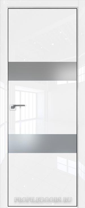 34LK Белый люкс Lacobel Серебряный лак Black Edition с 4-х сторон
