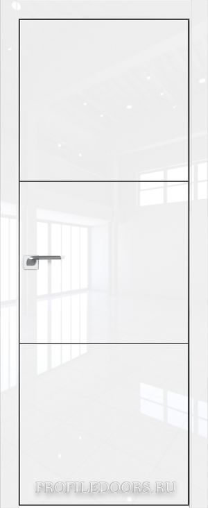 44LK Белый люкс Black Edition с 4-х сторон
