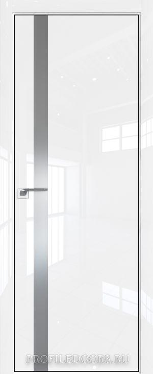 6LK Белый люкс Lacobel Серебряный лак Black Edition с 4-х сторон