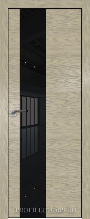 5NK Дуб SKY Крем Lacobel Черный лак ABS в цвет с 4-х сторон