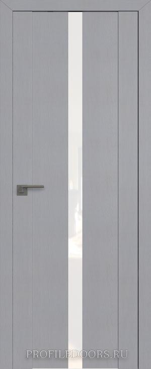 2.04STP Pine Manhattan Grey Lacobel Белый лак