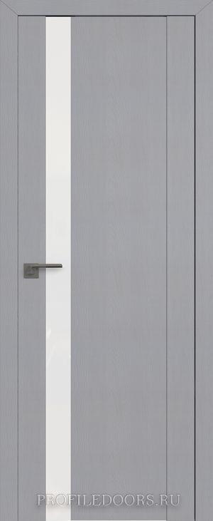 62STP Pine Manhattan Grey Lacobel Белый лак