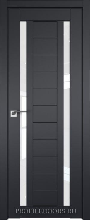 15U Черный матовый Белый триплекс