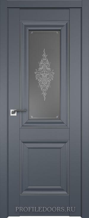 28U Антрацит Кристалл графит Серебро