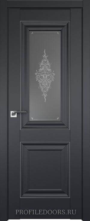 28U Черный матовый Кристалл графит Серебро