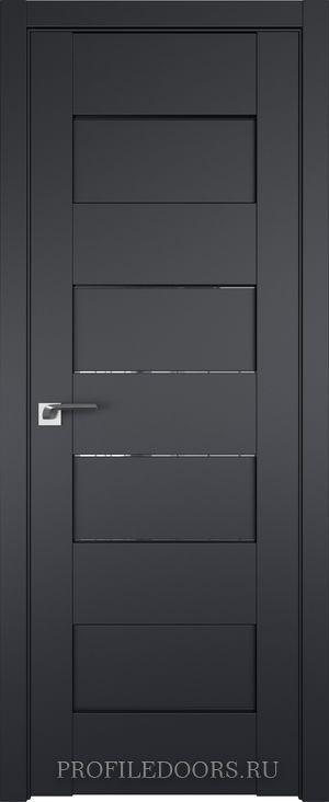 45U Черный матовый Прозрачное