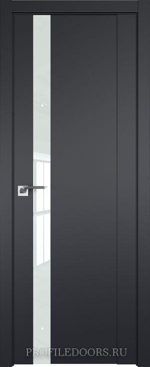62U Черный матовый Lacobel Белый лак