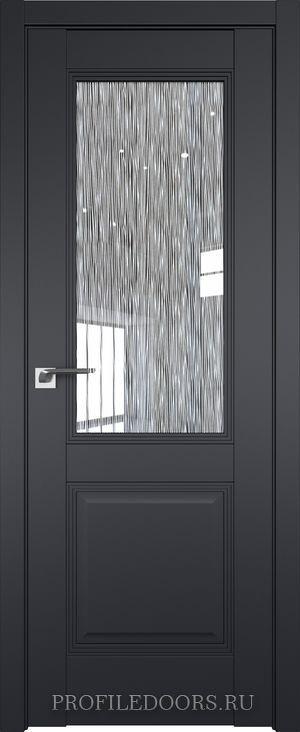 67.2U Черный матовый Дождь белый