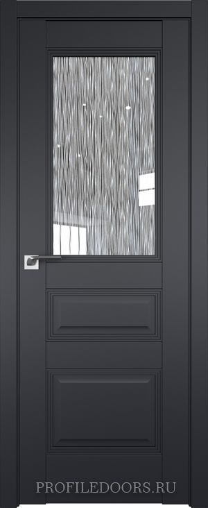 67U Черный матовый Дождь белый