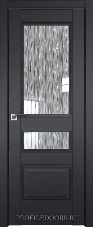 68U Черный матовый Дождь белый