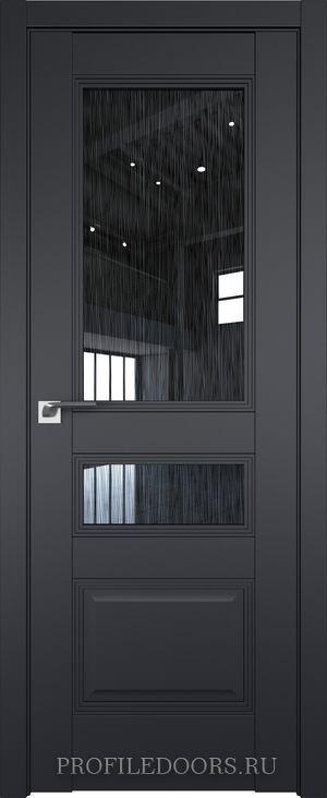 68U Черный матовый Дождь чёрный