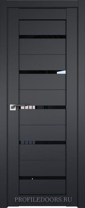 7U Черный матовый Черный триплекс