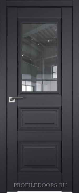 83U Черный матовый Прозрачное