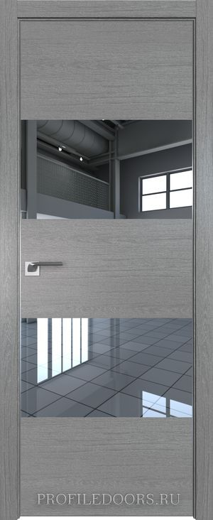 10ZN Грувд серый Зеркало Матовая с 4-х сторон
